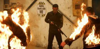 Pic from the movie The Night Comes for Us
