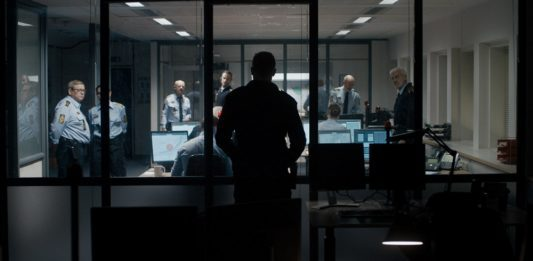 Image from the film The Guilty (2018)