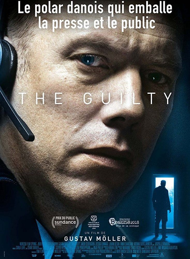 Movie poster from The Guilty (2018)