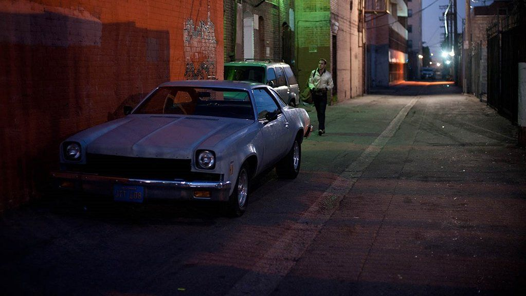 Image from movie Drive