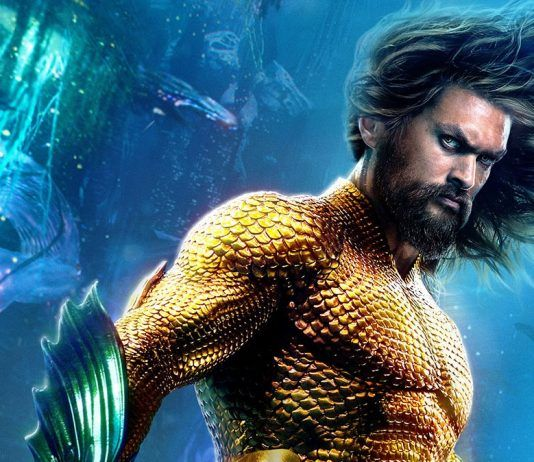 Movie poster from Aquaman