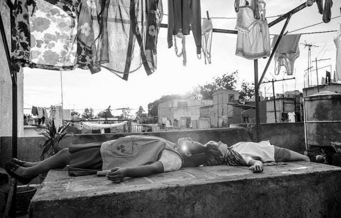 Image from the movie Roma (2018)