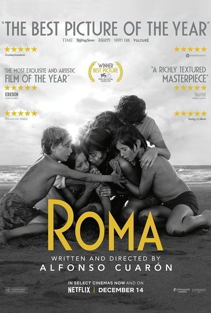 Movie poster from Roma (2018)
