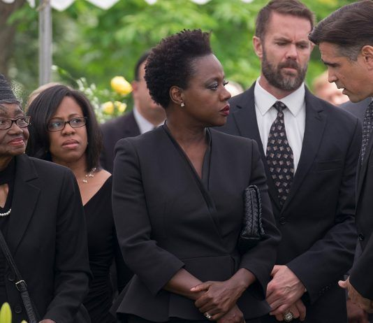 Image from the movie Widows (2018)