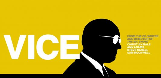 Movie poster from Vice (2018)