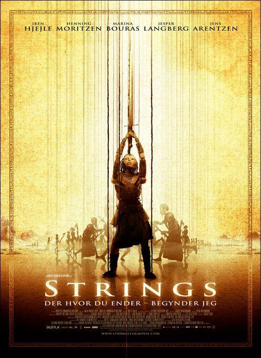 Poster from de movie Strings (2004)