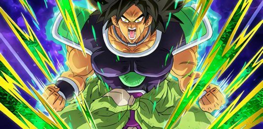 Frame from movie Dragon Ball Super: Broly (2018)