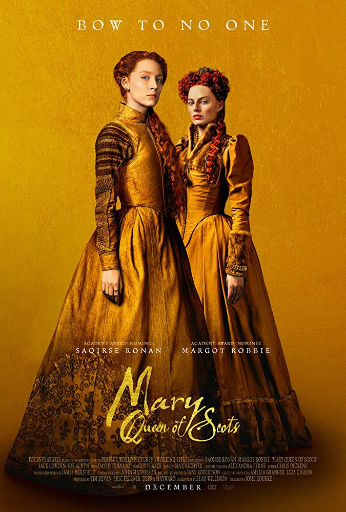 Movie poster from Mary Queen of Scots (2018)