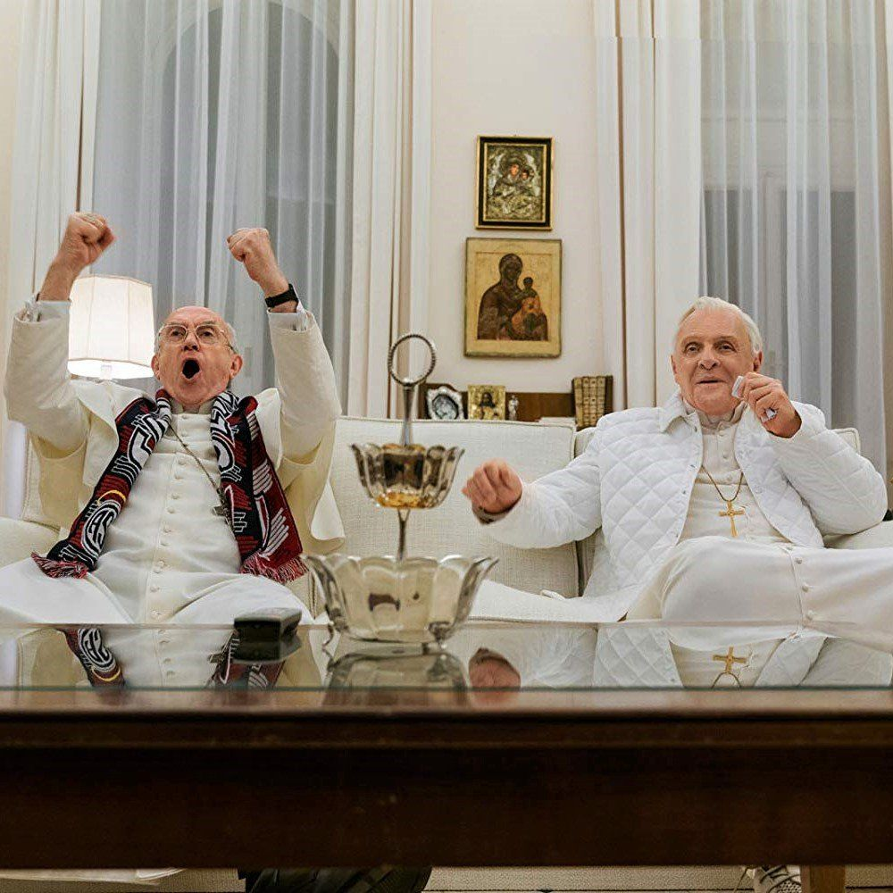 "<strong>The Two Pope<span style=""color: #eeeeee;"" class=""ugb-highlight"">s </span></strong>"